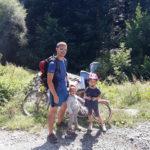 Панорамна пътека Железница - Бистрица: първи вело-преход с децата