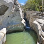 Екстремен преход до местност Сини вир, каньонът на река Канина