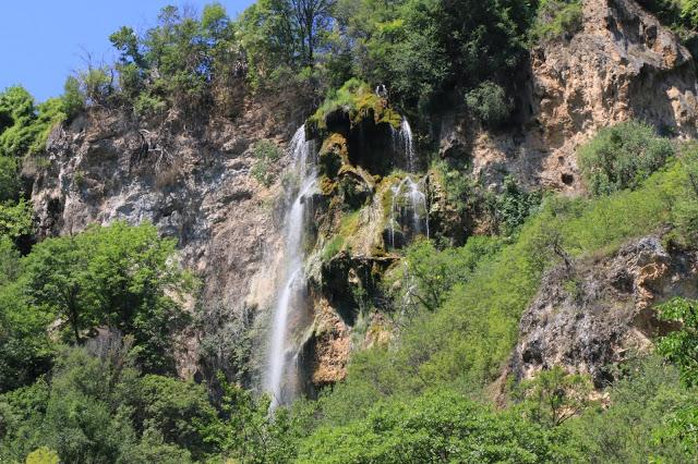 С влак до водопад Полска скакавица