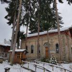 Кокалянски манастир през зимата