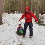 От Алеко до Драгалевския манастир - зимно по време на буря