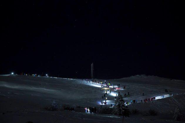 Нощно качване на Черни връх
