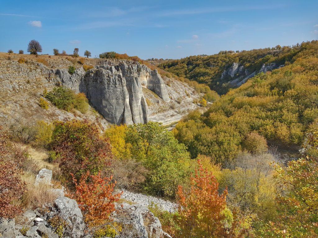 каньона на река Ръчене