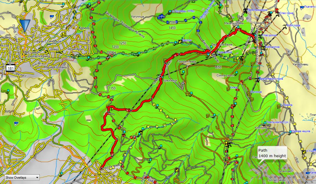 ски от Алеко до Симеоново