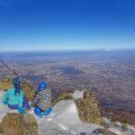 Зимни красоти и екшън - с деца до връх Камен дел
