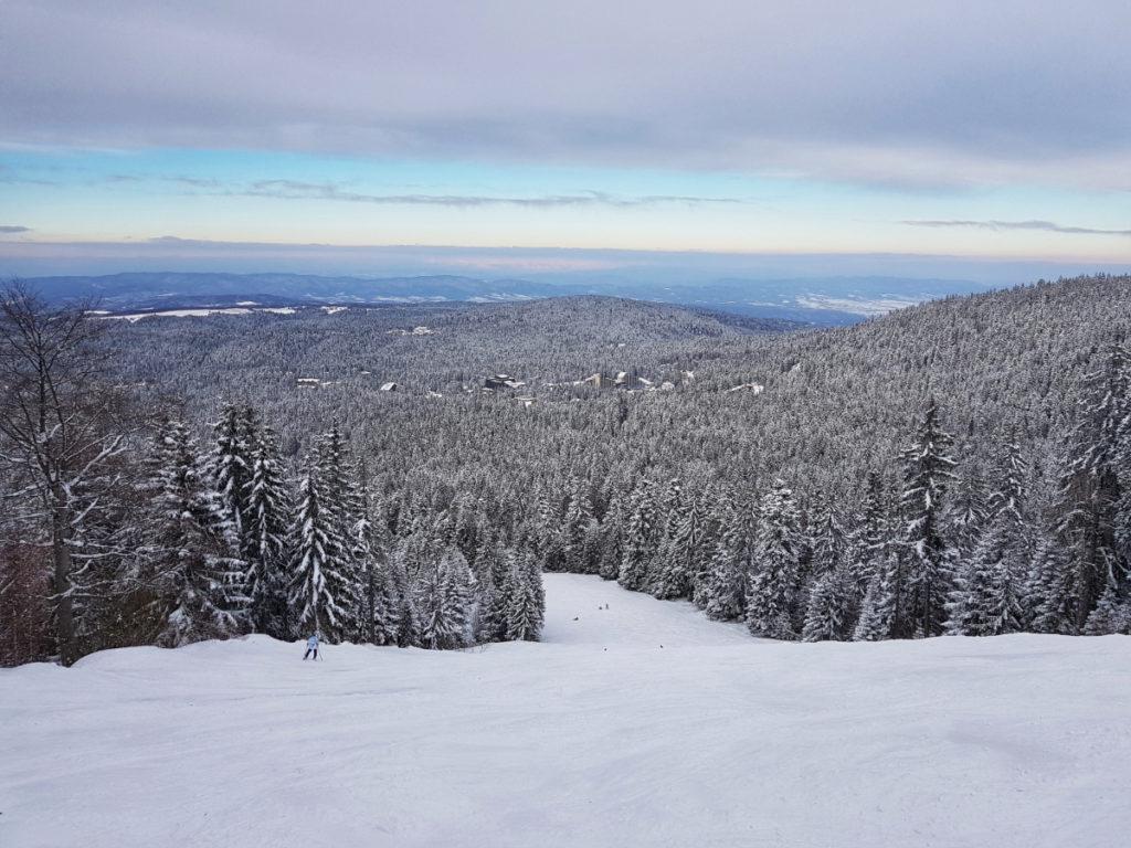 ски на Боровец