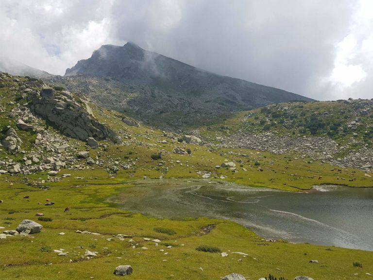 Хижа Вихрен - заслон Спано поле