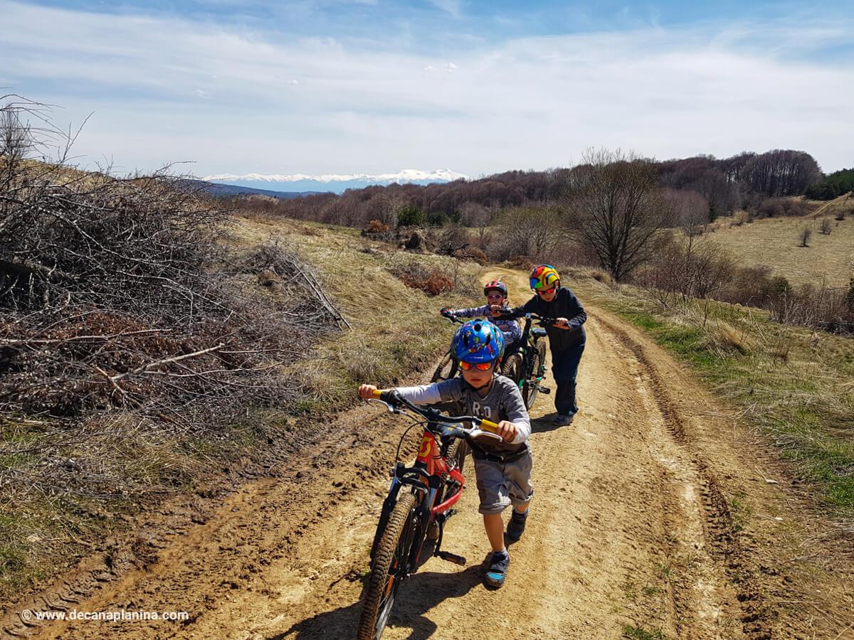 Велоизлет в Плана планина