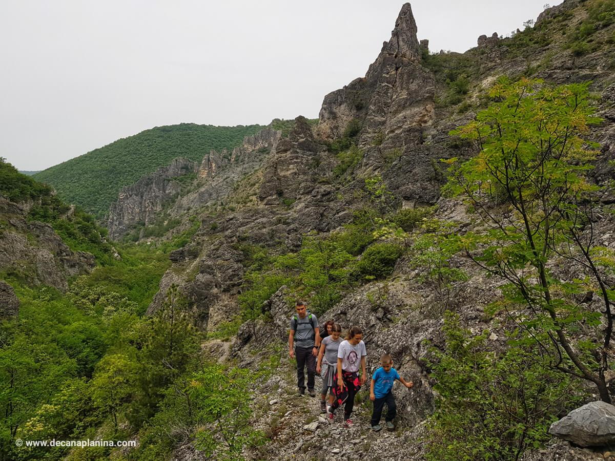 Каньонът на река Шегава