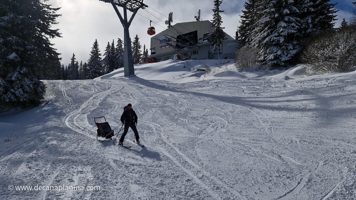 ски туринг на Витоша с деца